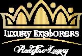 LUXURY EXPLORERS Logo